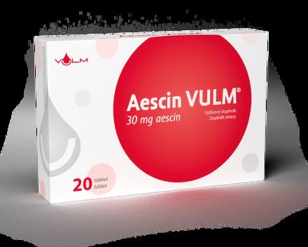 Vulm Aescin 30 mg 20 ks
