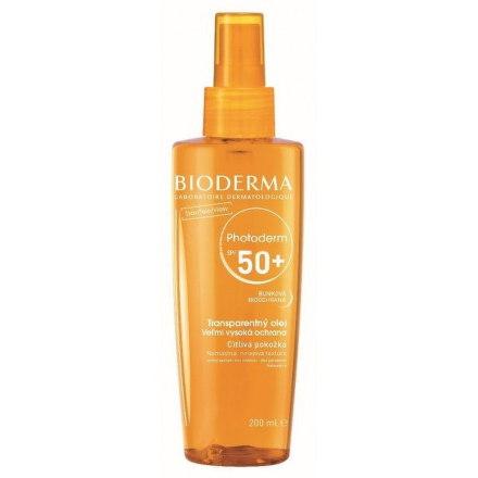 BIODERMA PHOTODERM Transparentný olej SPF 50+
