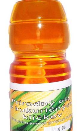 Olej z kukuričných klíčkov  ext.pan.