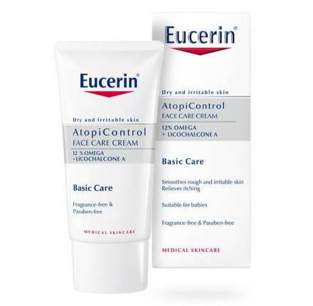 Eucerin Atopicontrol pleťový krém na suchú pokožku 50 ml