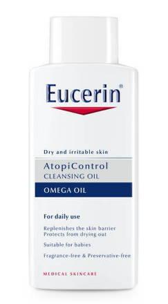 Eucerin Atopicontrol sprchový olej na suchú pleť 400 ml