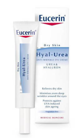EUCERIN HYAL-UREA Očný krém 15ml 63806