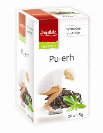 Apotheke čaj Premium Selection PU-ERH 20x1,8g