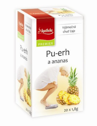 Apotheke Pu-erh a ananás čaj 20x1.8g n.s.