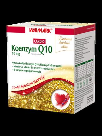 Walmark Koenzym q10 Cardio 60mg 40+40cps
