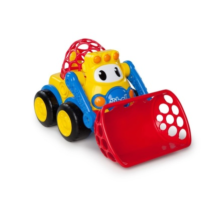 Hračka autíčko báger David Oball Go Grippers™ 18m+