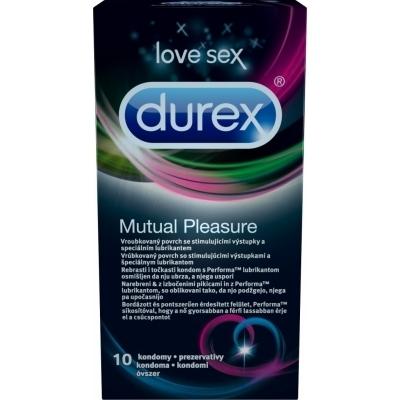 DUREX MUTUAL PLEASURE 10KS