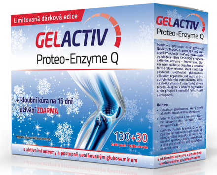 GELACTIV PROTEO-ENZYME Q TBL130+30 Vianoce
