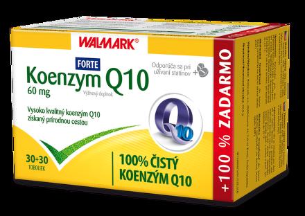 WALMARK Koenzým Q10 Forte 60mg 60 kapsúl