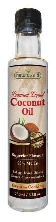 Natures Aid Premium Liquid Coconut Oil