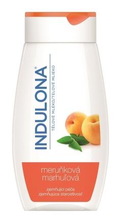 Indulona marhuľová Zjemňujúce telové mlieko 250ml