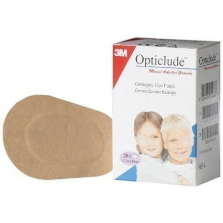 3M Opticlude očná náplasť maxi 20 ks