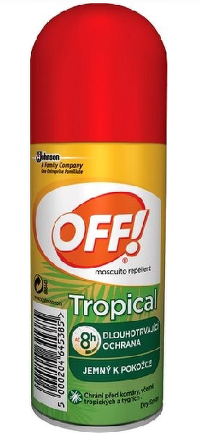OFF! TROPICAL SPRAY 100ML