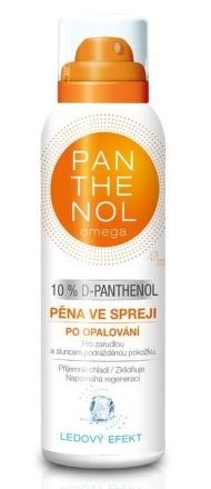 PANTHENOL omega 10% ĽADOVÝ EFEKT Pena v spreji po opaľovaní 150 ml