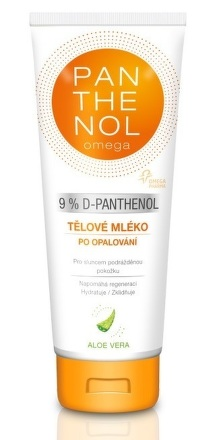 PANTHENOL omega 9% ALOE VERA Telové mlieko 250ml