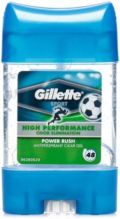 GILETTE CLEAR GEL POWER RUSH 70ML