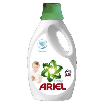 Ariel tekuty prací prášek Baby 40 prani 2.6L