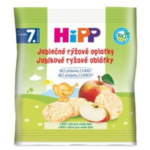 HiPP OBLÁTKY BIO Jablkovo ryžové