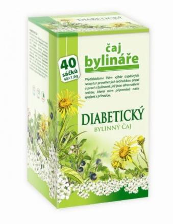 Mediate Čaj bylinkára diabetický 40 sáčkov
