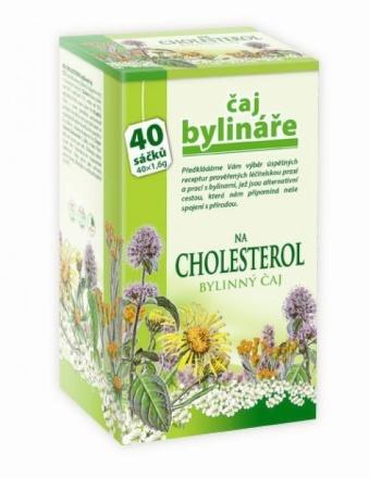 Mediate Čaj bylinkára na cholesterol 40 sáčkov