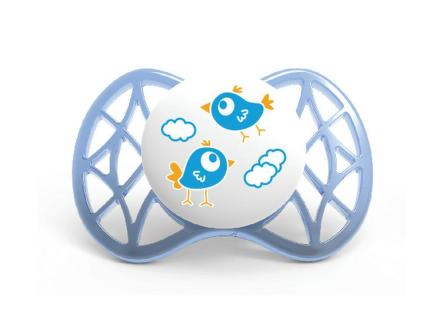NUVITA Air symetrický cumlík, Modrá/Tyrkysová, 2ks, 0+m