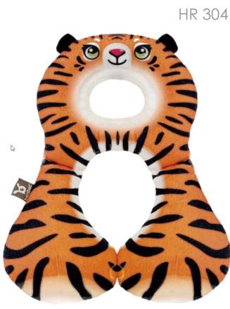 Nákrčník s opierkou hlavy 1-4 roky - tiger