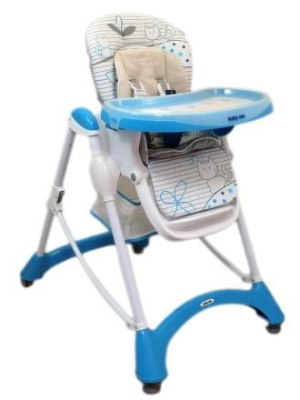 Jedálenská stolička Baby Mix blue