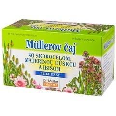 Dr.Muller čaj ibištek.skorocel,mat.dúška 20x1,5g
