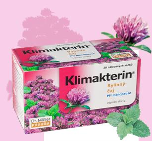 Klimakterin bylinný čaj pri menopauze 20x1.5g