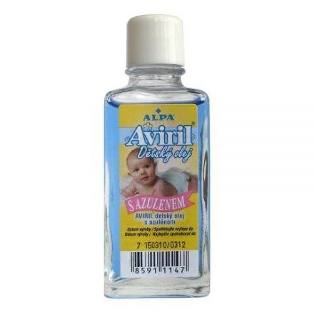 Aviril detský olej s azulénem 50ml