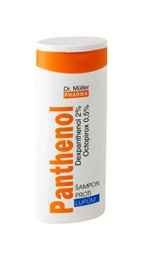 Panthenol šampón proti lupinám 250 ml (Dr.Müller)