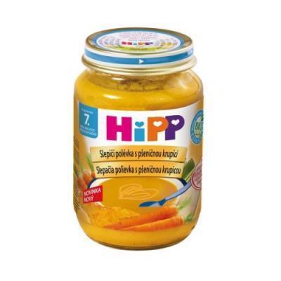 HiPP BIO Kuracia polievka s pšeničnou krupicou 190g