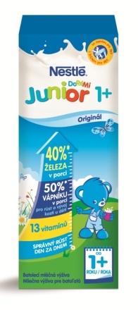 NESTLÉ Junior tekuté mlieko 1+ 200ml