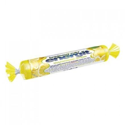 Energit Hroznový cukor multivit. citrón tbl.17 role