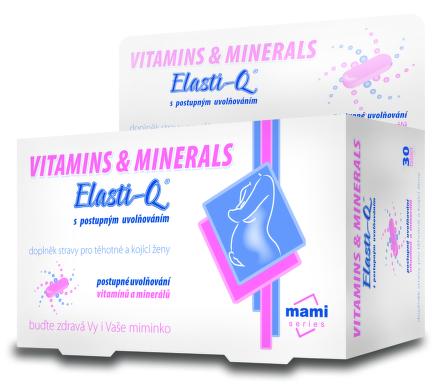 Elasti-Q Vitamins & Minerals 30ks
