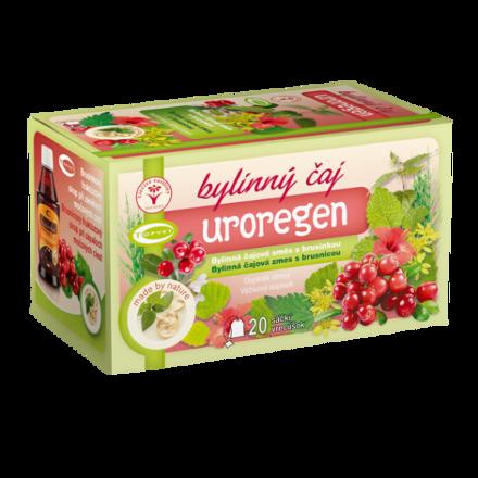 Čaj bylinný s brusinkou Uroregen 20x1.5g