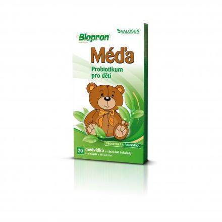 Valosun Biopron MACÍK 20ks probiotických medvedíkov
