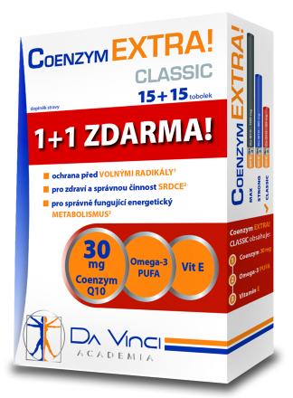 Da Vinci Coenzym EXTRA! Classic 30 mg 30 tbl