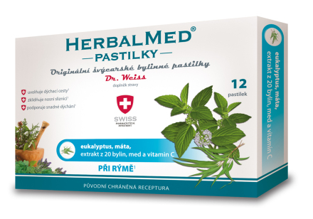 HerbalMed past. Dr.Weiss Eukalypt+mata+vit.C 12