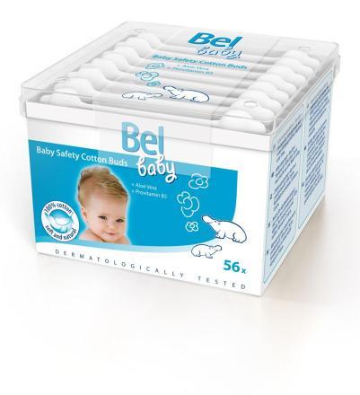 Bel Baby detské vatové tyčinky 56ks
