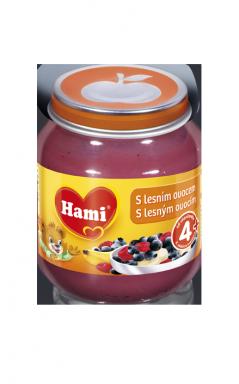 Hami ovocný príkrm s lesným ovocím 125g