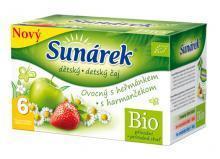 Sunárek BIO čaj ovocný s harmančekom 20ks