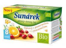 Sunárek BIO čaj šípkový s pomarančom 20ks