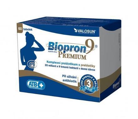 Valosun Biopron 9 PREMIUM 60 tob.