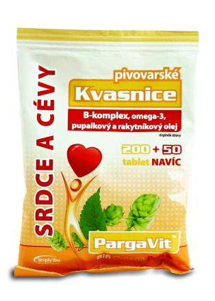 PargaVit Pivovarské kvasnice Bifi Omega Puls tbl.250