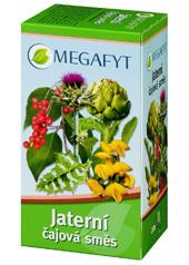 MEGAFYT čajová bylinná zmes na pečeň 20x1,5g