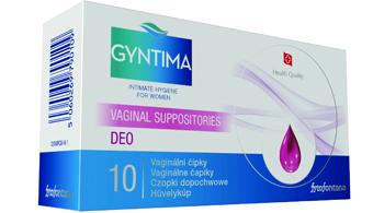 Herb-Pharma Gyntima Probiotica vaginálne čípky 10 ks