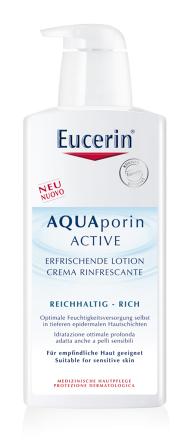 EUCERIN AQUAporin tel.mlieko suchá pok. 400ml 63949
