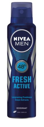 Nivea Men Deo Sprej pre mužov Fresh active 150ml