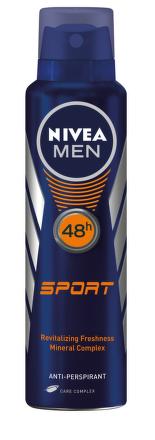 Nivea Men Sprej Antiperspirant pre mužov Sport 150ml